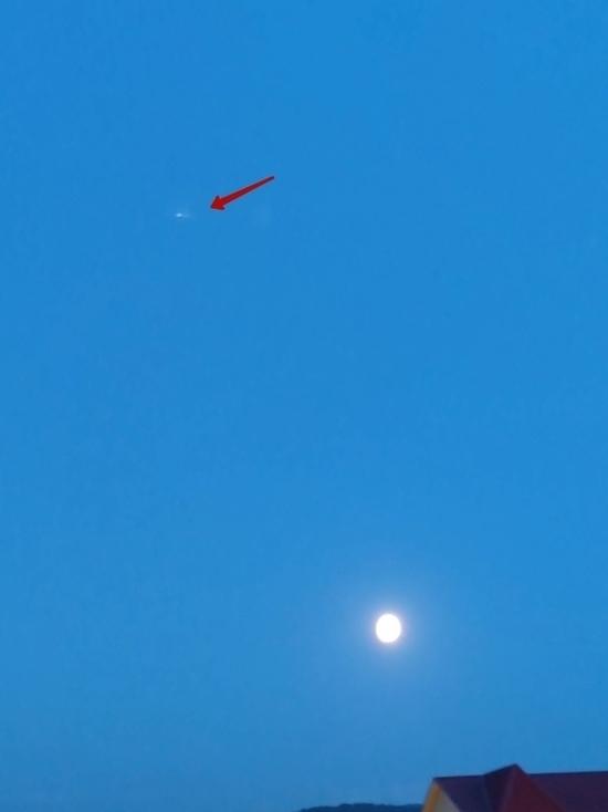 Красноярец снял с балкона запуск ракеты «Протон-М»