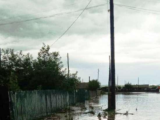 Энергетики обесточили подтопленный поселок Заречный в Забайкалье