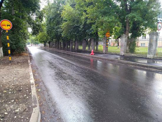 В субботу перекроют движение транспорта на улице Горького в Брянске