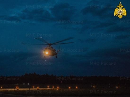 Ночью в Тверь на вертолете срочно доставили несовершеннолетнего