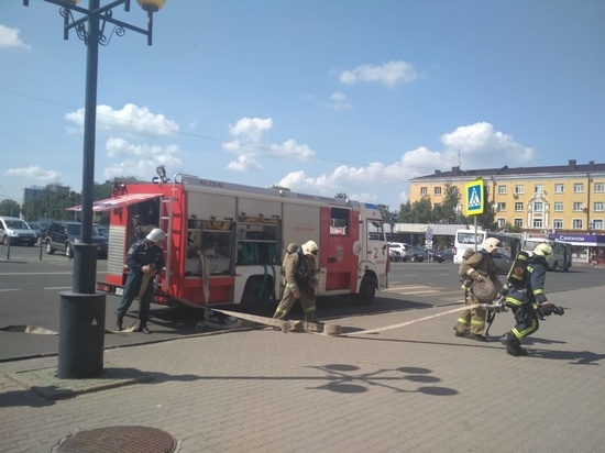 В Курске проверили боеготовность пожарно-спасательных подразделений