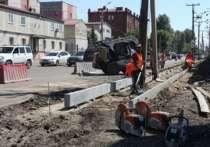 Улица Баррикад отремонтирована на 30%, одна полоса перекрыта