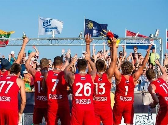 Белгородцы выиграли бронзу чемпионата Европы по пляжному гандболу
