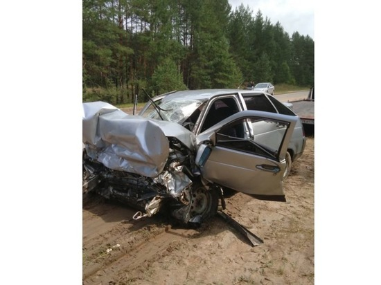 Два человека погибли в ДТП на дороге Звенигово-Шелангер-Морки в Марий Эл