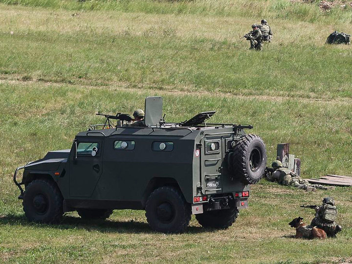 Спецназ «Витязь» показал приемы ликвидации террористических групп