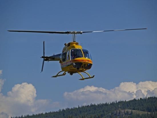 Ураган в Сызрани снес три военных вертолета