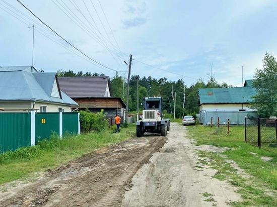 Несколько дорог в пригороде Барнаула отремонтируют за 8 млн рублей