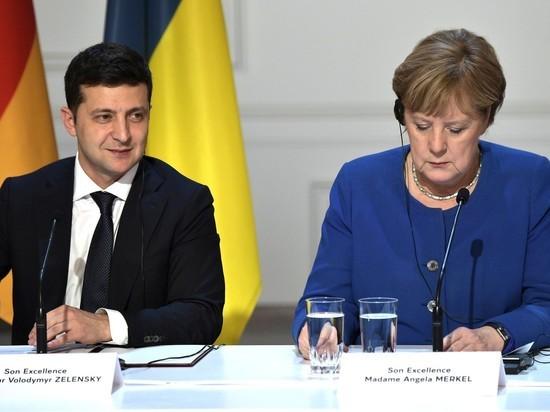 """Меркель назвала """"хорошим для Украины"""" соглашение по """"Северному потоку-2"""""""