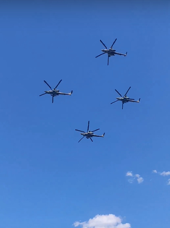 «Беркуты» из Тверской области выступили на авиасалоне МАКС