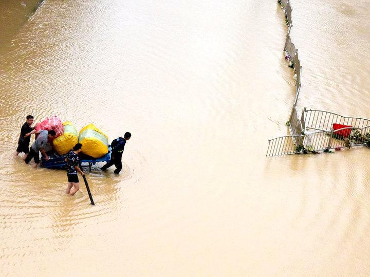 Описан сценарий речного цунами в Китае: угроза трети миллиарда человек