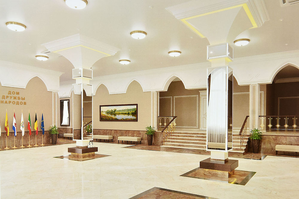 В центре Йошкар-Олы строится Дом дружбы народов