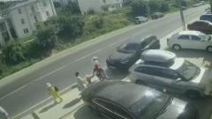 ДТП с уснувшим водителем в Анапе попало на видео