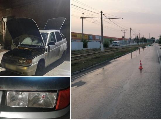 Под Волгоградом водитель сбил нетрезвого пешехода и уехал с места ДТП