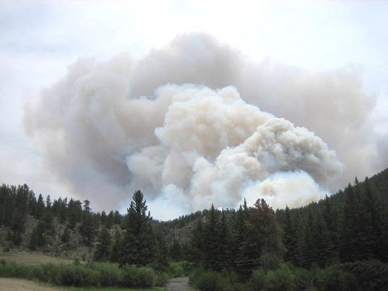 Пожар в Орегоне — самый крупный в истории штата