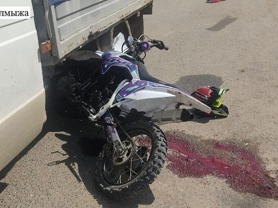 Водитель  «Газели» сбил подростка на питбайке