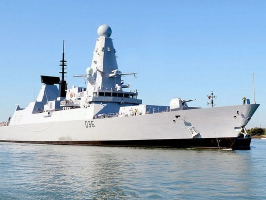 Defender остался единственным действующим эсминцем в ВМС Британии