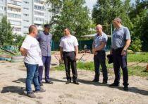 Мэр Благовещенска оценил ход благоустройства городских дворов