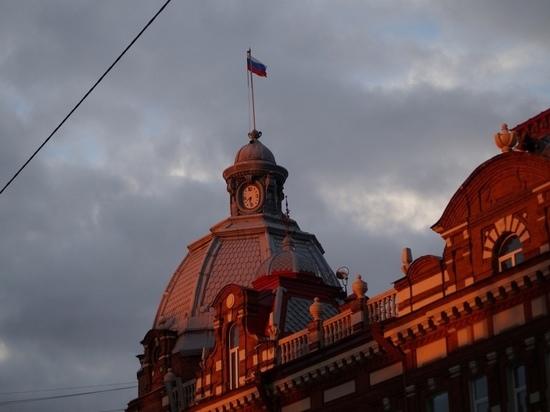 В центре Томска устанавливают указатели с QR-кодом