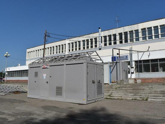Кислородную станцию построили для ковидного госпиталя в Томске
