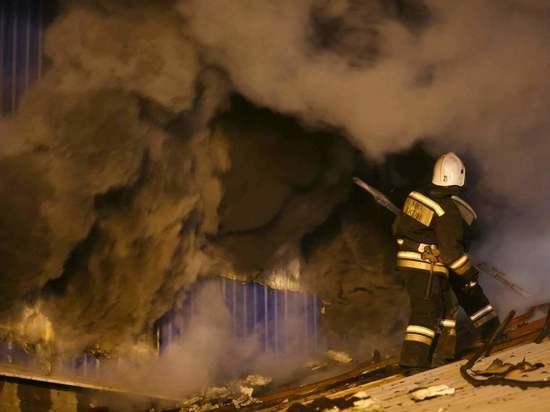 При пожаре в доме в Волгоградской области погибла пенсионерка