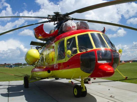 С начала года вертолёты санавиации эвакуировали 688 пациентов в Томск из районов