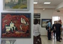 Художники из Белгорода, Курска и Орла объединились, чтобы показать белгородцам свои лучшие произведения, темой которых стала война, а также жизнь городов в послевоенное время