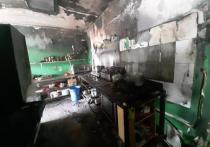 При пожаре в Анапском кафе пострадали двое людей