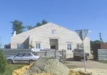В селе Уколово Губкинского горокруга строят новый Дом Культуры за 40 млн рублей