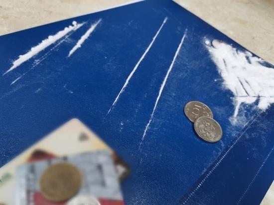 В Тульской области полицейские изъяли у мужчины 25 свертков с синтетическим наркотиком