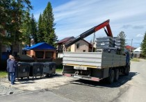 Во всех садовых товариществах Ханты-Мансийска установлены мусорные контейнеры