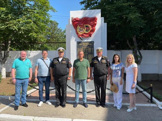 Тамбовская делегация посетила подшефную воинскую часть в Севастополе.