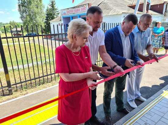 Губернатор Тамбовской области принял участие в церемонии открытия нового ФАПа в Пичаевском районе