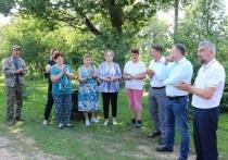Жители и руководство Барятинского района выразили благодарность филиалу «Калугаэнерго»