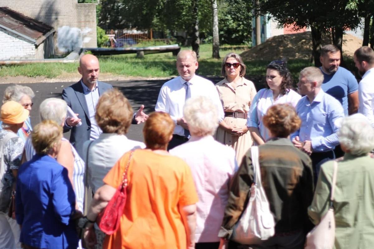 Выездная комиссия в Костроме проверила ход работ на объектах «Народного бюджета»