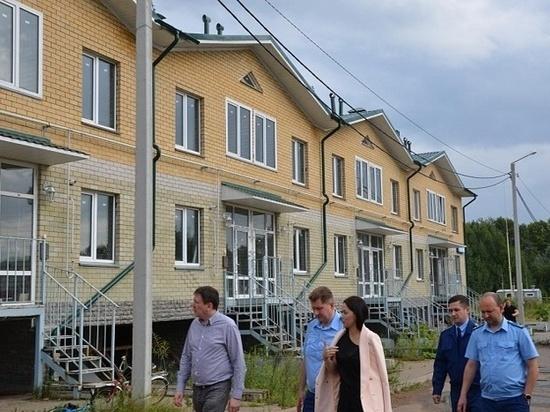 В Кирове три недостроя в слободе «Новое Сергеево» губернатор обещал довести до ума