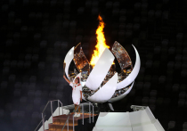 Пламя Олимпийских игр уже бьется в сердце Токио