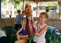 Малыши из Ясиноватой и Горловки повеселились в театре кукол: ФОТО
