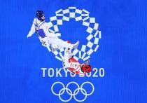 Российский тхэквондист Михаил Артамонов победил аргентинца Лукаса Лаутаро Гусмана и завоевал бронзовую медальна Олимпийских играх в Токио