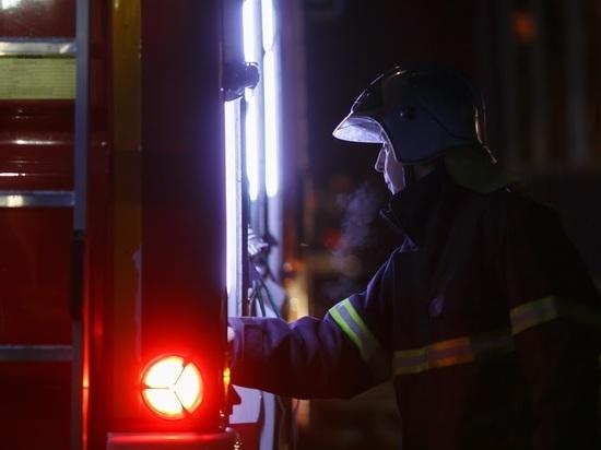 На севере Волгоградской области тушили пожар в прядильном цехе