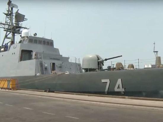 Эстония обвинила иранский эсминец в нарушении границы республики