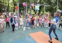 Четвёртую по программе губернатора детскую площадку открыли в Серпухове