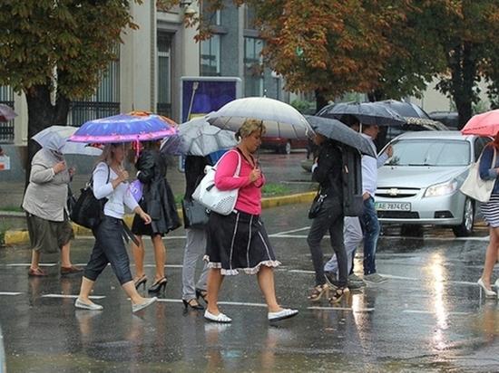 Дожди и грозы ожидаются в Томске в воскресенье
