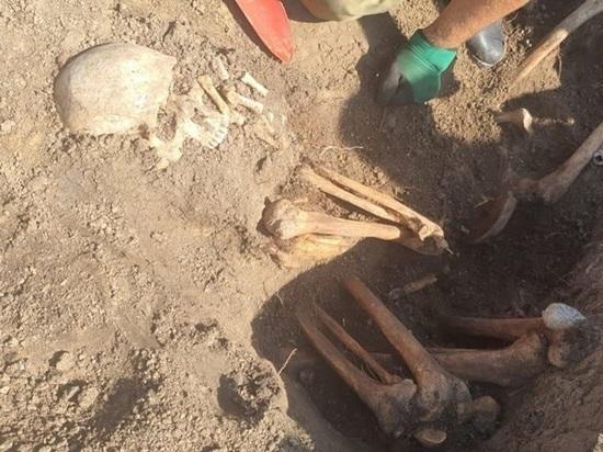 Под Ростовом обнаружена братская могила солдат Великой Отечественной войны