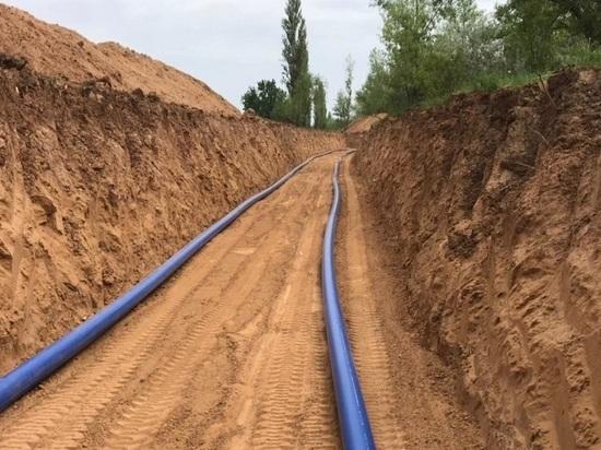 В Волгоградской области активно строят новые системы водоснабжения