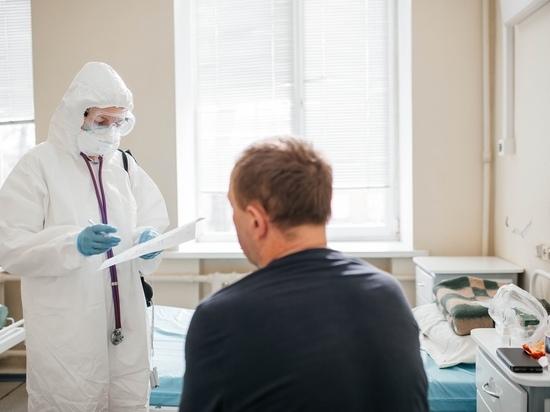 В Рязанской области 640 пациентов госпитализированы с коронавирусом