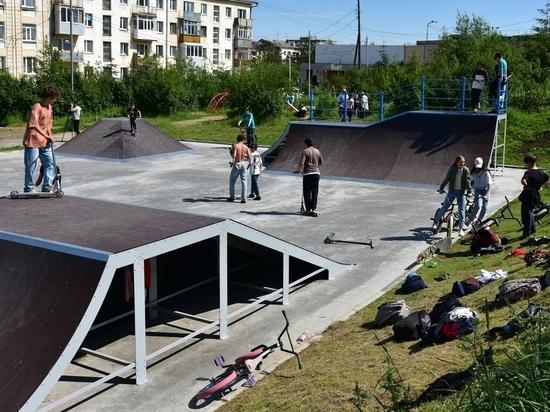 Скейтбордисты Магадана опробовали новый парк