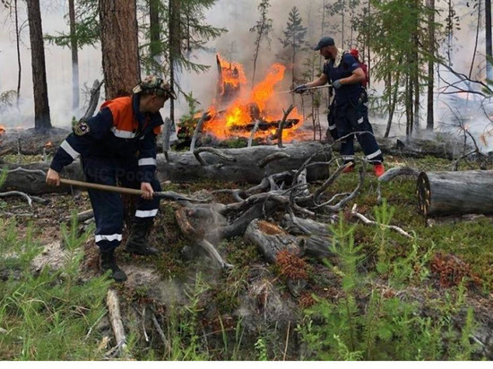 В Якутии за сутки ликвидировали 41 природный пожар