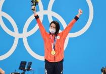 Японская пловчиха Юи Охаси выиграла золотую медаль на дистанции 400 метров комплексным плаванием