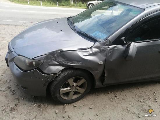 Ребенок пострадал в дорожной аварии в Новосибирске