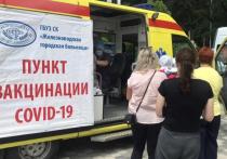 Электросамокат разыграли в лотерее на антиковидном фестивале в Железноводске